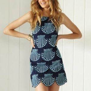 Gorgeous Jumbo Seashell Lilly Pulitzer Shift Dress